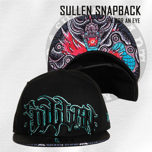 Sullen Snapback - Eye for an Eye - Black