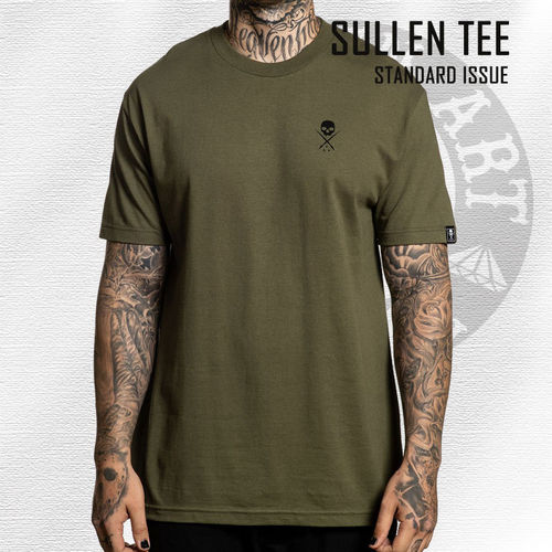 Sullen Standard - Standard Issue Tee - Military Green