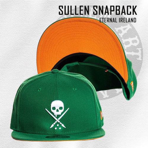 Sullen Snapback - Eternal Ireland - Irish Green/Orange