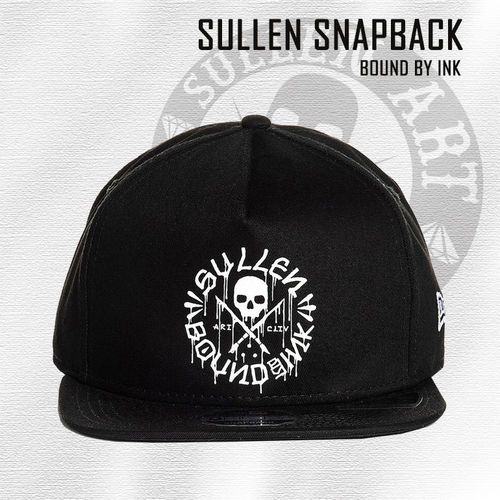 Sullen Snapback - Bound By Ink - Black
