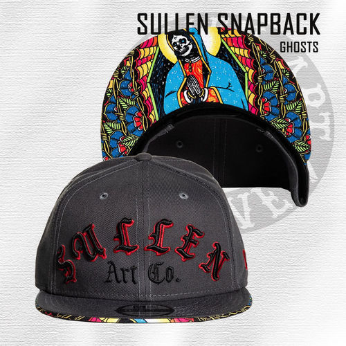 Sullen Snapback - Ghosts - Grey