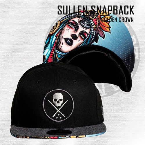Sullen Snapback - Golden Crown - Black
