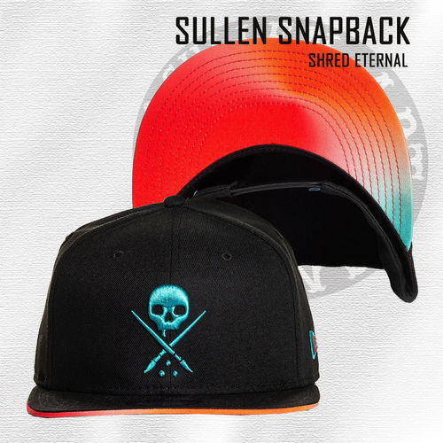 Sullen Snapback - Shred Eternal - Black