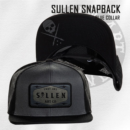 Sullen - Blue Collar Snapback - Black