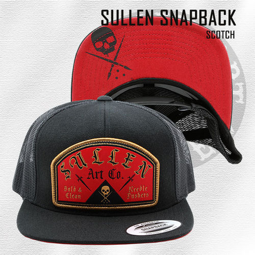 Sullen - Scotch Snapback - Black