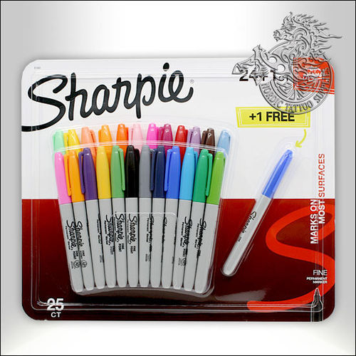 Sharpie 25 Pack Color Fine Point