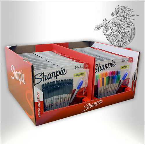 Sharpie 25-blister Display Set 26x25pcs
