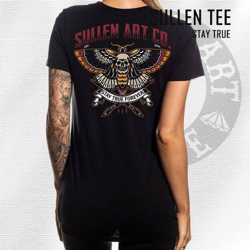 Sullen Angels - Stay True Tee - Black