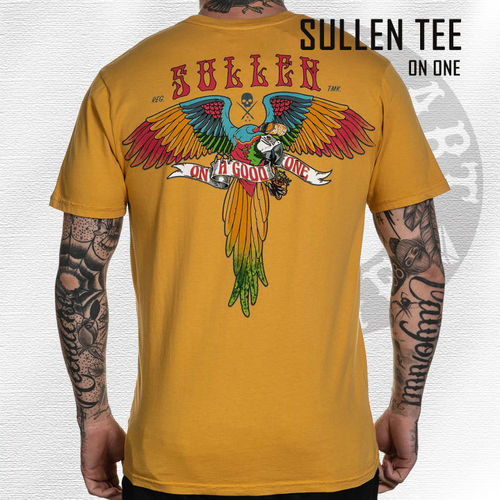 Sullen - On One Tee - Mustard
