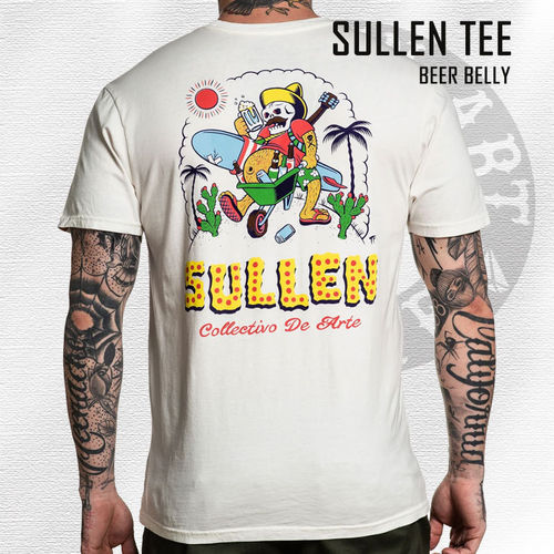 Sullen - Beer Belly Tee - Antique White