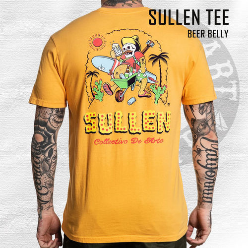 Sullen - Beer Belly Tee - Marigold Yellow