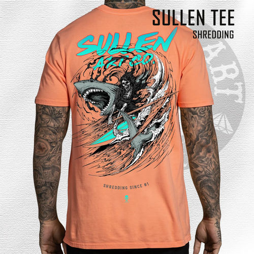 Sullen - Shredding Tee - Coral