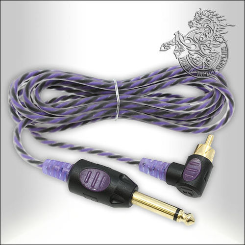 Bishop 90 Degree RCA Cable - 210cm - Purple