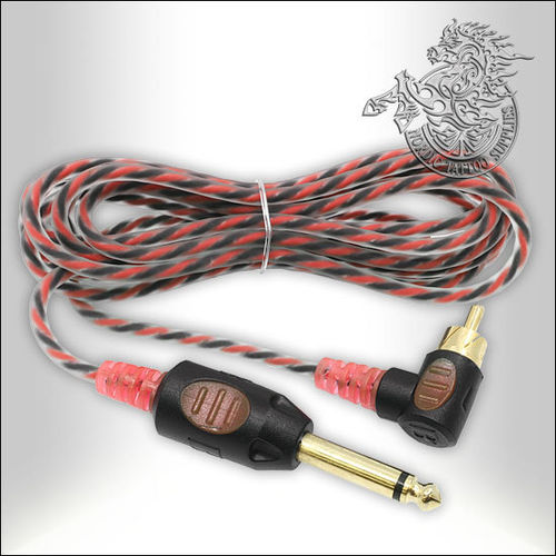 Bishop 90 Degree RCA Cable - 210cm - Red