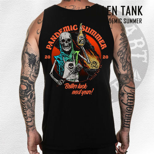 Sullen - Pandemic Summer Tank - Black