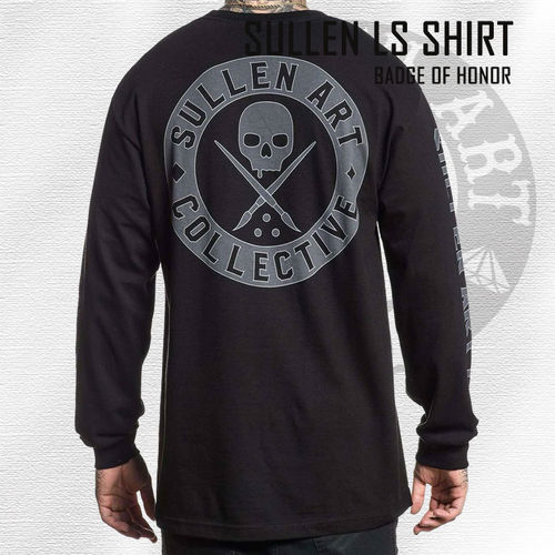Sullen - Badge of Honor Long Sleeve - Black