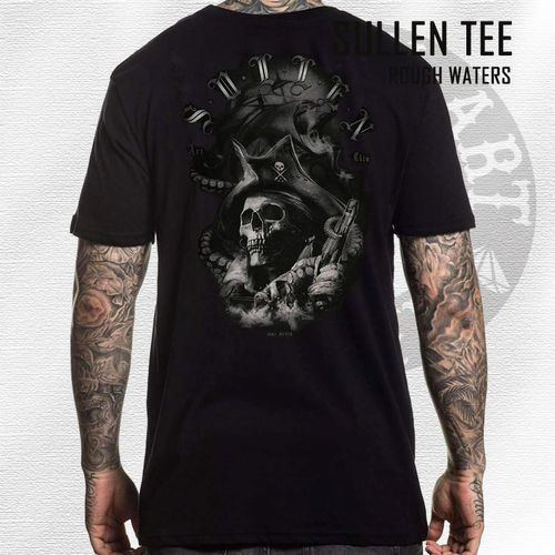 Sullen - Rough Waters Tee - Black