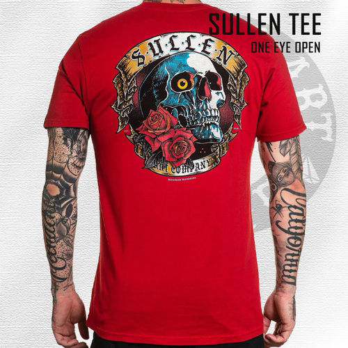 Sullen - One Eye Open Tee - Chili Pepper Red