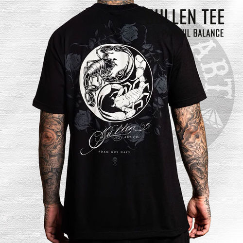 Sullen - Painful Balance Tee - Black