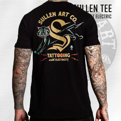 Sullen - Cat Electric Tee - Black