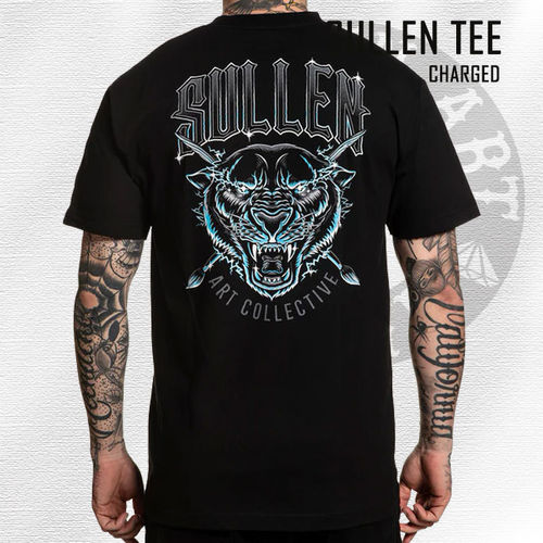 Sullen - Charged Tee - Black