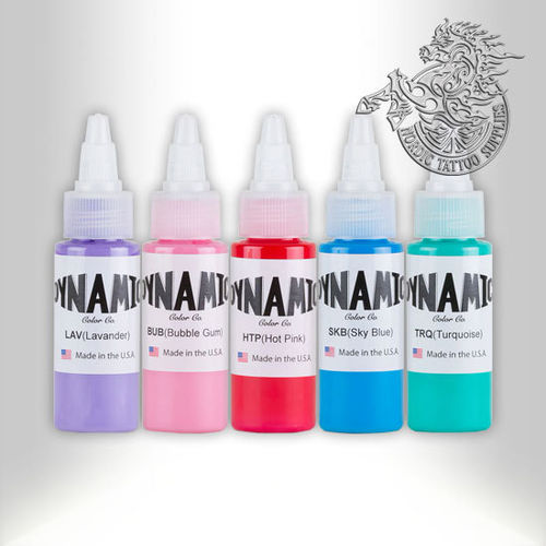 Dynamic Ink 30ml Candy Color Set 5 Colors