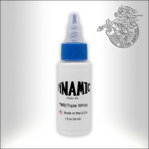 Dynamic Ink 30ml Triple White