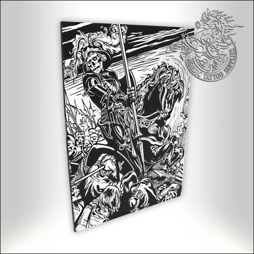 Tattoo Book - Illustrated Monthly - Skeletons