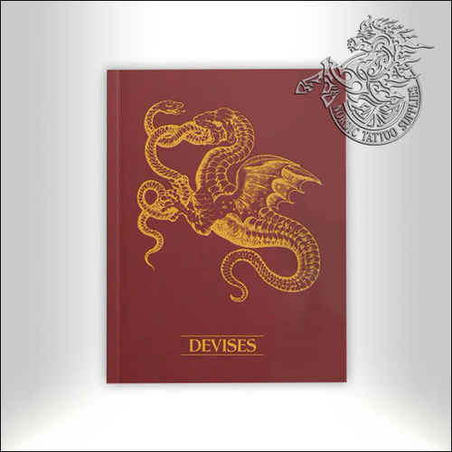 Tattoo Book - Illustrated Monthly - Devises