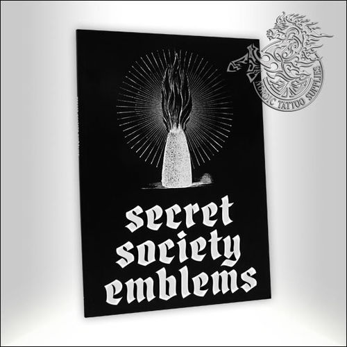 Tattoo Book - Illustrated Monthly - Secret Society Emblems
