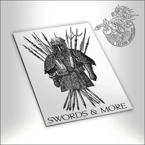 Tattoo Book - Illustrated Monthly - Swords & More