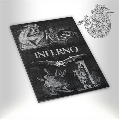 Tattoo Book - Illustrated Monthly - Inferno