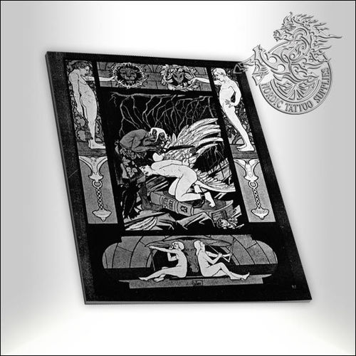 Tattoo Book - Illustrated Monthly - Ex Libris