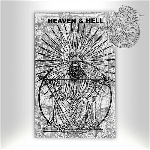 Tattoo Book - Illustrated Monthly - Heaven & Hell