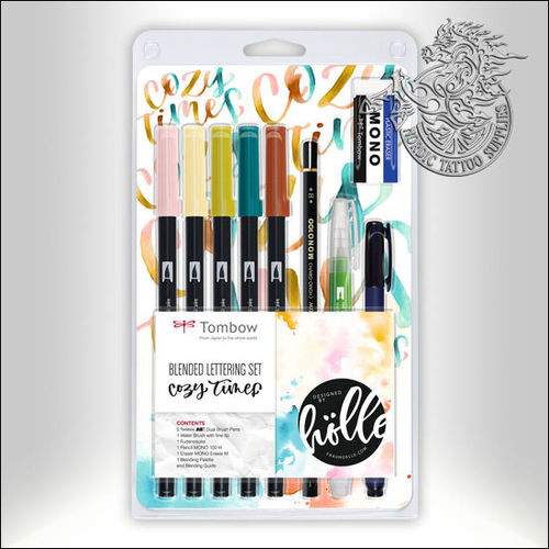 Tombow ABT Dual Brush Blended Lettering Set - Cozy Times
