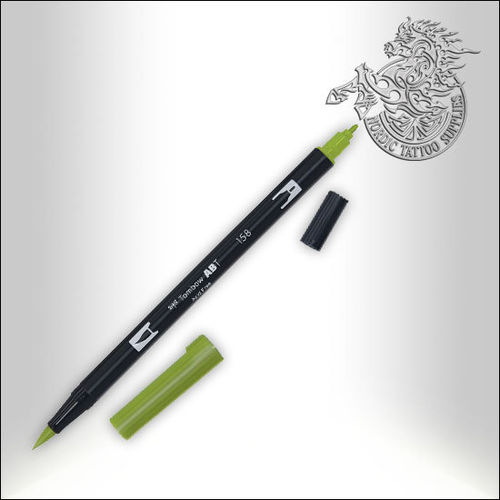 Tombow Pen 158 Dark Olive