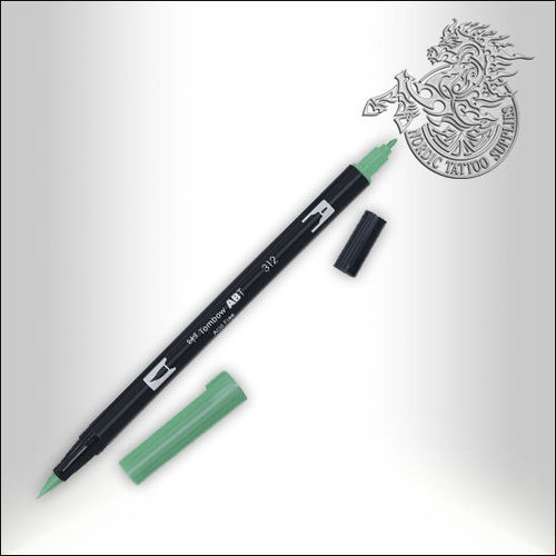 Tombow Pen 312 Holly Green