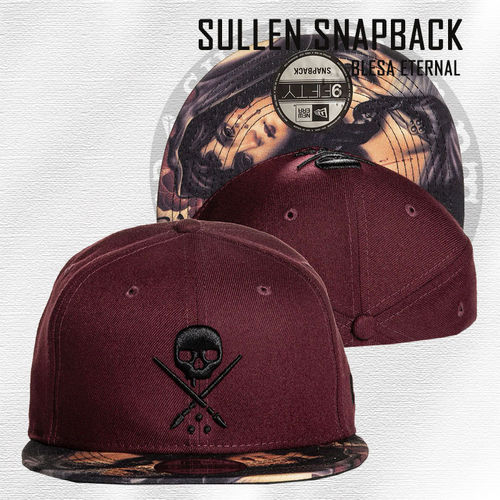 Sullen Snapback - Blesa Eternal - Maroon Red