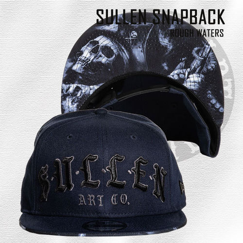 Sullen Snapback - Rough Waters - Navy Blue