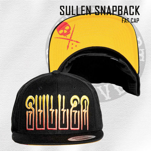 Sullen Snapback - Fat Cap - Black/Yellow