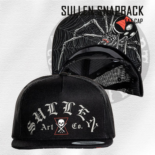 Sullen Snapback - Widow Maker - Black