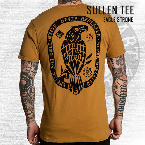 Sullen - Eagle Strong Tee - Mustard Yellow