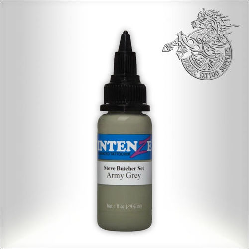 Intenze - Steve Butcher - Army Grey 30ml