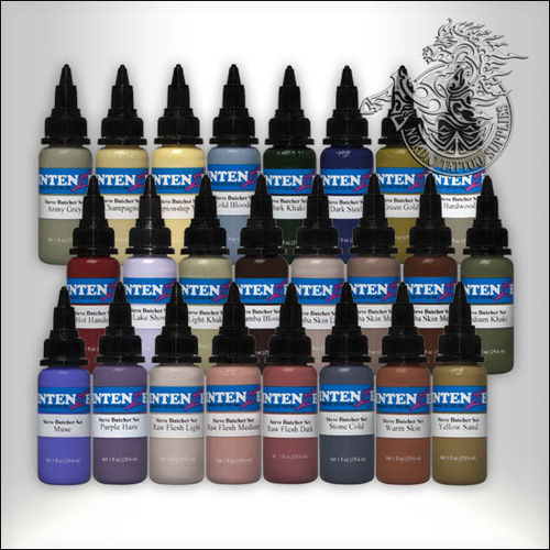Intenze Steve Butcher 24 Color Set - 24 +2 x 30ml