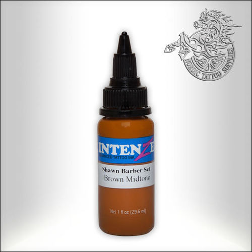 Intenze - Shawn Barber - Brown Midtone 30ml