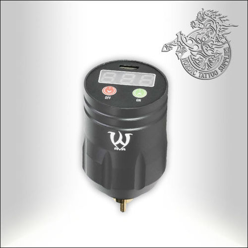 AVA Wireless Tattoo Power Supply - Grey