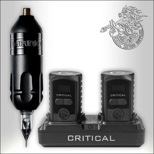 Bishop Rotary Wand - Liner + Critical Wireless Battery Pack Bundle